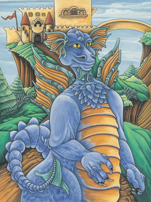 Blue Dragon - The Communicator by Tricia McLean